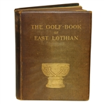 1896 The Golf Book of East Lothian by John Kerr - John Roth Collection