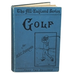 1904 Golf in Theory and Practice - Some Hints to Beginners Book by H.S.C. Everhard - John Roth Collection