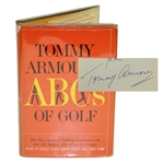 Tommy Armour Signed 1967 ABCs of Golf Book - Roth Collection JSA ALOA