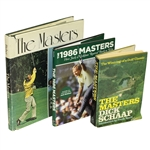 The Masters by Bisher, The 1986 Masters by Boyette, & The Masters by Dick Schapp - Roth Collection