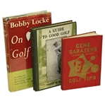 Common Sense Golf Tips , Bobby Locke on Golf, & A Guide to Good Golf Books - Roth Collection