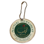 Bob Goalbys 1980 Masters Tournament Contestant Bag Tag - Seve Ballesteros Winner