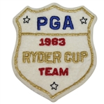 Bob Goalbys 1963 Ryder Cup Matches at East Lake CC USA Team Member Patch