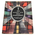 1931 US Open Championship (35th) at Inverness Program - Billy Burke Winner