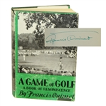 Bob Goalbys Personal A Game of Golf Book Signed by Francis Ouimet JSA ALOA
