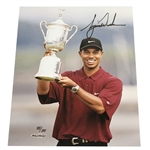 Tiger Woods Signed Ltd Ed 88/100 US Open Trophy 8x10 Photo #BAJ25491