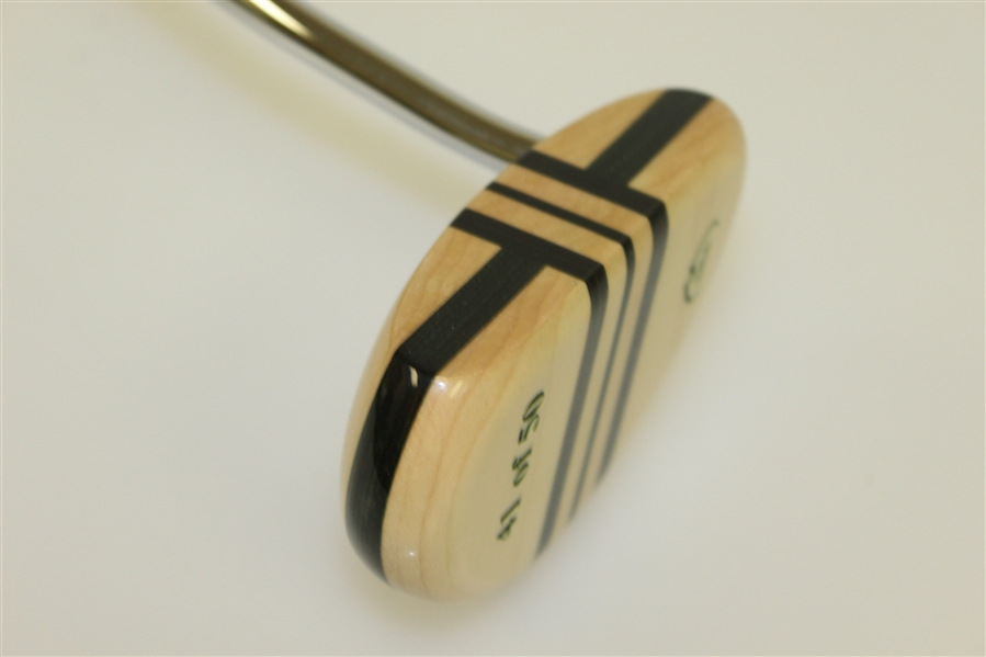 Augusta National Golf Club Ltd Ed Wooden Mallet Putter 41/50 in Original Box with COA