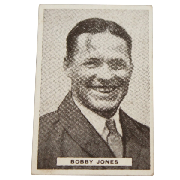 Bobby Jones Sweetacres Champion Chewing Gum Card No. 35/48 Ltd Series - 1930's