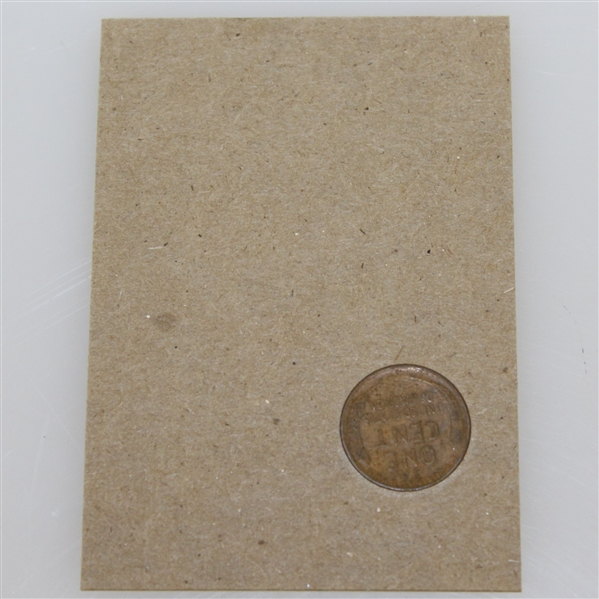 Ben Hogan 1940 'Defeats Sam Snead to Capture First Victory' Lincoln Wheat Penny Card