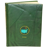 Bob Goalbys Signed Personal The Masters: Profile of a Tournament Book by Dawson Taylor JSA ALOA
