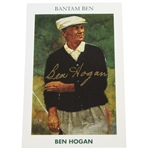 Ben Hogan Signed Ltd Ed. Bantam Ben 1992 Mueller Golf Card #319 JSA ALOA