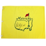 Phil Mickelson Signed Masters Undated Embroidered Flag JSA ALOA