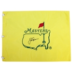 Jack Nicklaus Signed Masters Undated Embroidered Flag JSA ALOA