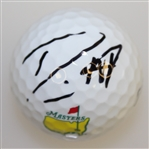 Danny Willett Signed Masters Logo Golf Ball JSA ALOA