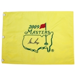 Gary Player Signed 2009 Masters Embroidered Flag JSA ALOA