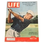 Ben Hogan Signed August 1955 LIFE Large 11x14 Magazine JSA FULL #Y90480