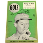Cary Middlecoff Signed 1955 July Golf Digest Booklet - Signed on Cover JSA ALOA
