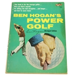 Ben Hogan Signed Book Ben Hogans Power Golf on Cover JSA ALOA