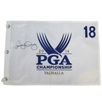 Rory McIlroy Signed 2014 PGA Championship at Valhalla Embroidered Flag JSA ALOA