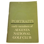 Portraits: Early Members of Augusta National Golf Club Booklet - 1963