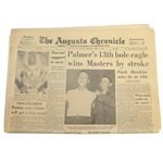 1958 The Augusta Chronicle Newspaper - Monday April 7, 1958