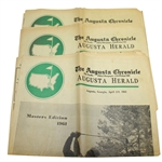 1961 The Augusta Chronicle Newspaper - Masters Edition