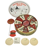 1927 Round the Clock Golf Game with All Components - Good Condition - Roth Collection