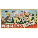 Classic Wrigleys Spearmint Gum Golf Themed Advertising Sign by John Bliss - Roth Collection