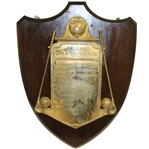 1921-1933 Club Champions Award Plaque - Roth Collection