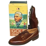 1950s Tommy Armour Mint Golf Shoes in Original Advertising Box
