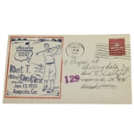 1933 Augusta National Golf Club Bobby Jones Course Opening FDC - Red