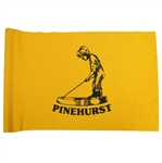 Pinehurst Yellow Course Flown Flag