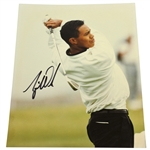 Tiger Woods Signed Color 8x10 Photo - Post Swing JSA ALOA