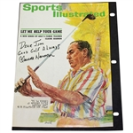 Claude Harmon Signed April 27, 1964 Sports Illustrated Cover JSA FULL #Z84524