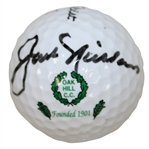 Jack Nicklaus Signed Oak Hill Country Club Logo Golf Ball JSA ALOA