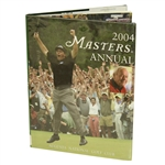 2004 Masters Tournament Annual Book with Dustjacket - Phil Mickelson Winner