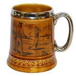 Classic 19th Hole Lord Nelson Pottery Mug - Hand Crafted in England