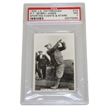 R.T. (Bobby) Jones 1935 J.A. Pattreiouex Sporting Events & Stars Card PSA/DNA NM 7 #02075560