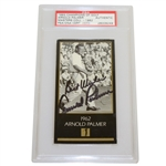 Arnold Palmer Signed 1962 Champions of Golf Masters Collection Golf Card PSA/DNA #26009249