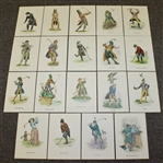 The Nineteen Holes of Golf Complete Set of the Classic Golf Color Prints - Excellent Condition