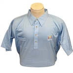 Ray Floyds 1981 Ryder Cup USA Team Issued Light Blue Uniform Shirt