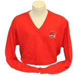 Ray Floyds 1991 Ryder Cup USA Team Issued Cashmere Uniform Red Sweater - Kiawah