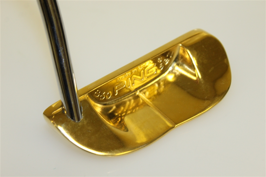 Ray Floyd's PING B60 Gold Putter Awarded for Senior Tour's 1995 Emerald Coast Classic Win