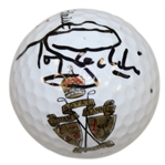 Tony Jacklin Signed Royal Lytham & St Annes Logo Golf Ball JSA ALOA