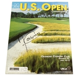 Angel Cabrera Signed 2007 US Open Championship at Oakmont CC Program JSA ALOA