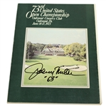 Johnny Miller Signed 1973 US Open Championship at Oakmont CC Program JSA ALOA