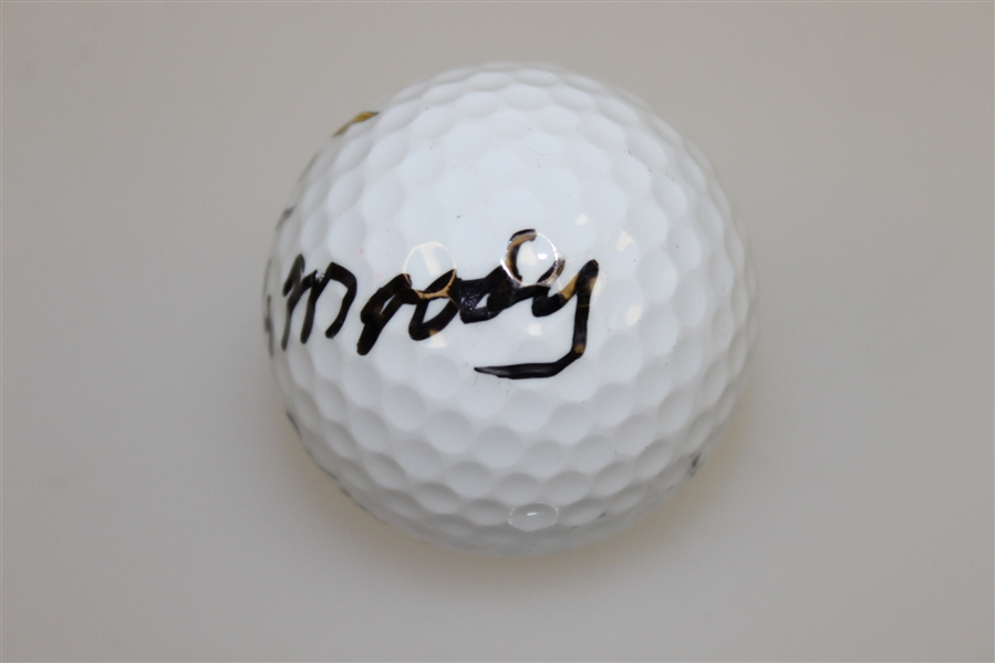 Orville Moody Signed Champions Golf Club Logo Golf Ball JSA ALOA