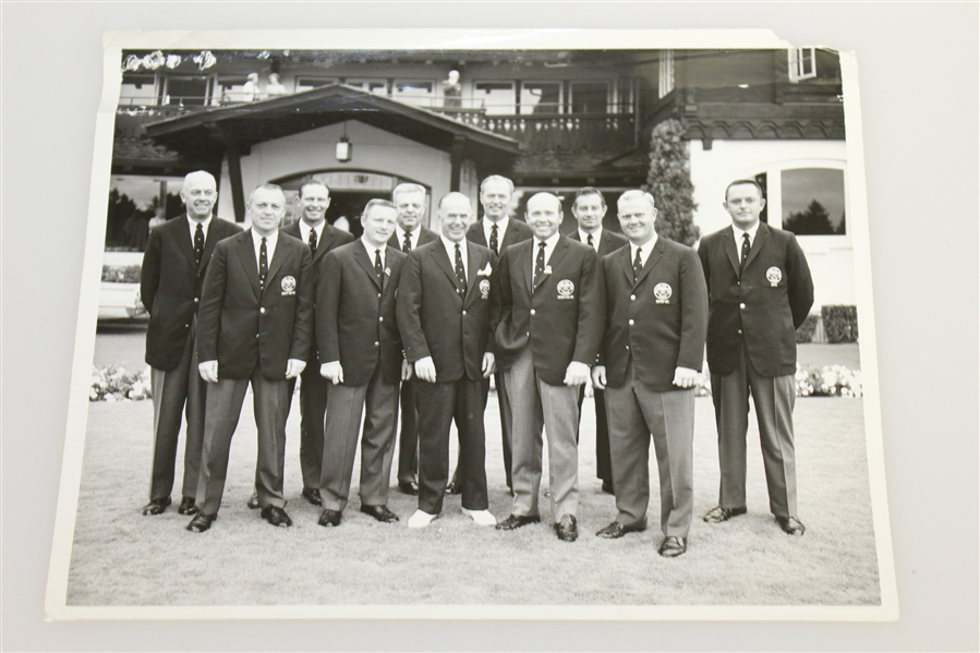 Don Cherry's Personal 1961 Walker Cup Team Green Jacket