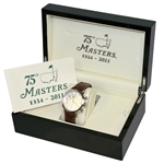 Masters 75th Anniversary Ltd. Ed. Commemorative Watch in Emerald Green Box - 2011