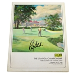 Ray Floyd Signed 1969 PGA Championship at NCR CC Official Program JSA ALOA